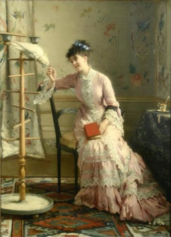 Friendship And Affection | Gustave Leonard de Jonghe | oil painting