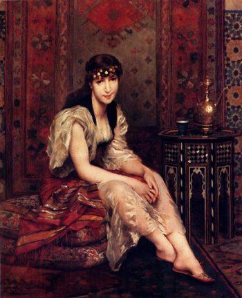 Meditation | Gustave Leonard de Jonghe | oil painting