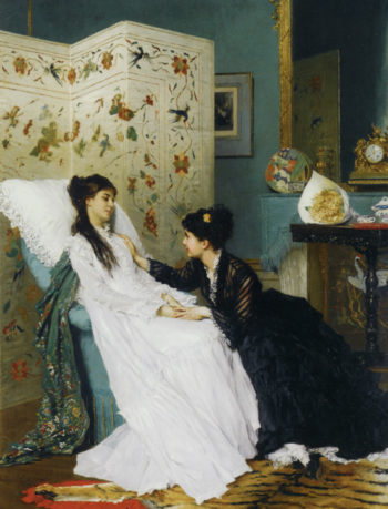 The Convalescent 1 | Gustave Leonard de Jonghe | oil painting