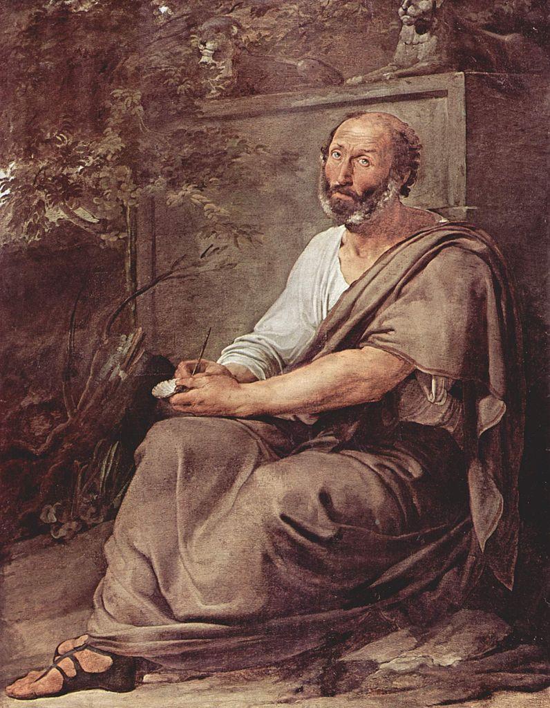 Aristotle | Francesco Paolo Hayez | oil painting