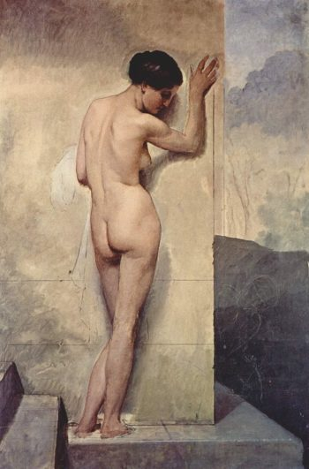 Nude Female | Francesco Paolo Hayez | oil painting