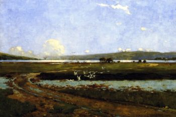 The Head of the Holy Loch   George Henry   oil painting