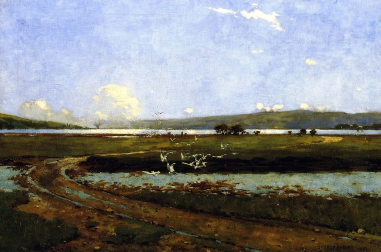 The Head of the Holy Loch | George Henry | oil painting