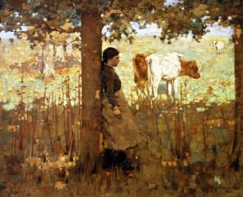 Noon | George Henry | oil painting
