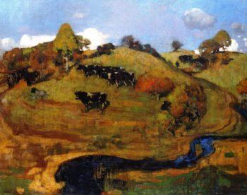 A Galloway Landscape | George Henry | oil painting