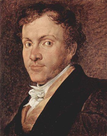 Portrait Giuseppe Roberti | Francesco Paolo Hayez | oil painting