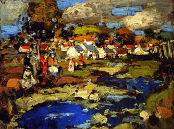 Barr Ayshire | George Henry | oil painting