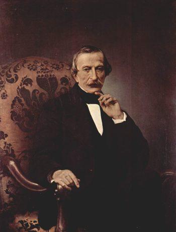 Portrait Massimo d' Azeglio | Francesco Paolo Hayez | oil painting