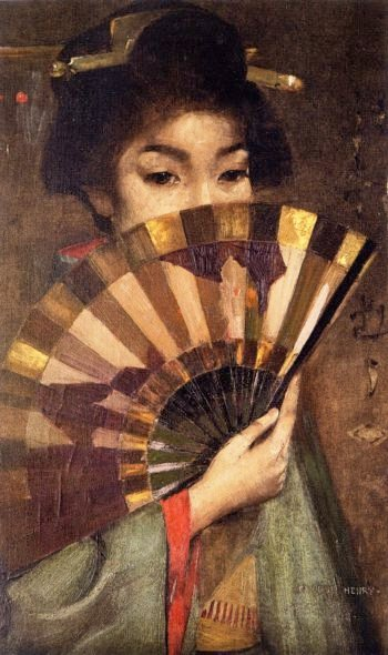 Geisha Girl | George Henry | oil painting