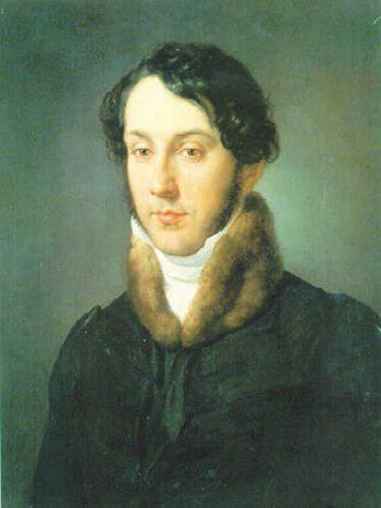 Portrait of a man | Francesco Paolo Hayez | oil painting