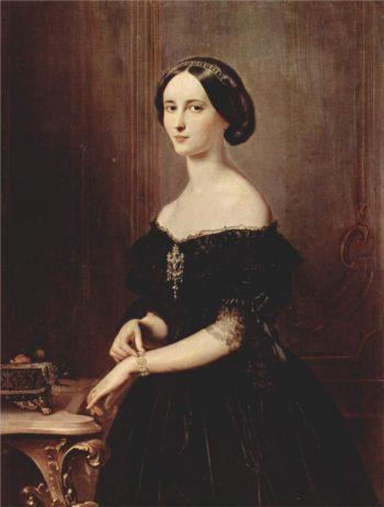Portrait of a Venetian woman | Francesco Paolo Hayez | oil painting