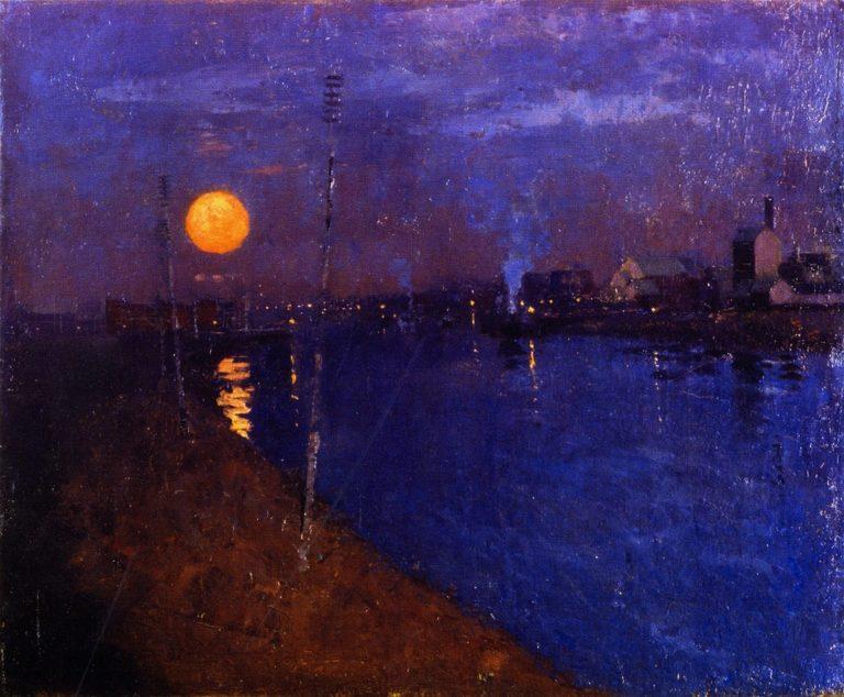 Sundown | George Henry | oil painting