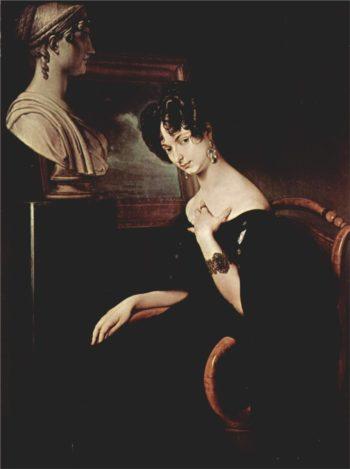 Portrait of Cristina di Belgiojoso Trivulzio | Francesco Paolo Hayez | oil painting