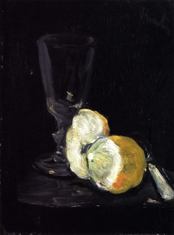 A Peeled Lemon | George Leslie Hunter | oil painting