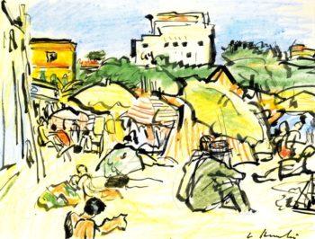 Juan les Pains | George Leslie Hunter | oil painting