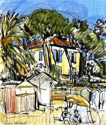 Juan les Pins | George Leslie Hunter | oil painting
