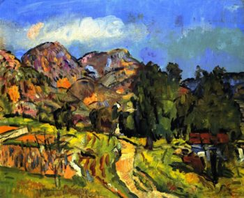 Provencal Landscape | George Leslie Hunter | oil painting