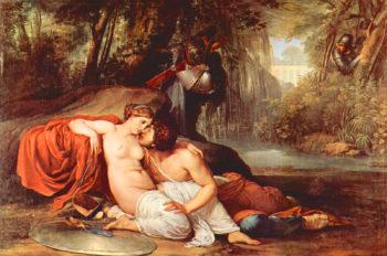 Rinaldo and Armida | Francesco Paolo Hayez | oil painting