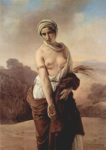 Ruth | Francesco Paolo Hayez | oil painting