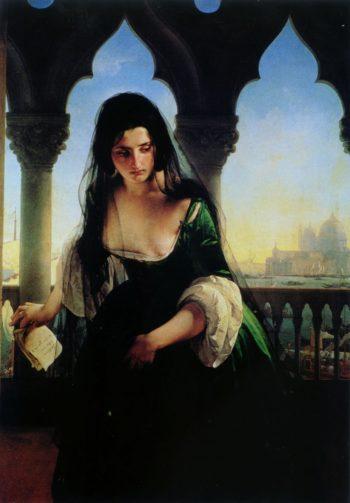 Secret accusation | Francesco Paolo Hayez | oil painting