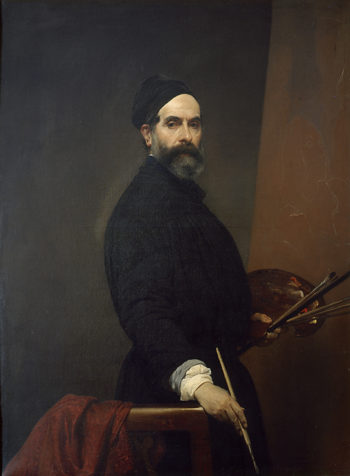 Self portrait | Francesco Paolo Hayez | oil painting