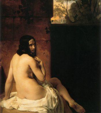 Susanna Al Bagno | Francesco Paolo Hayez | oil painting