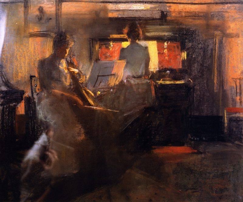 Canclelight | James Guthrie | oil painting