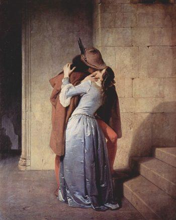 The Kiss | Francesco Paolo Hayez | oil painting