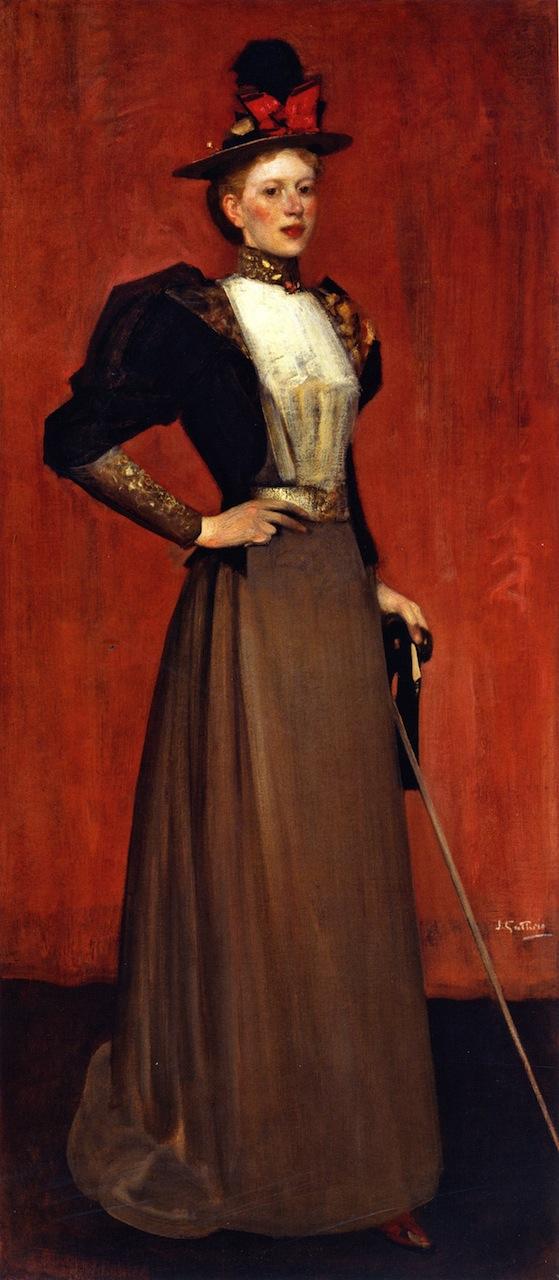 Maggie Hamilton   James Guthrie   oil painting