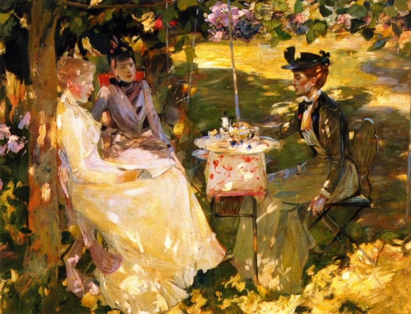 Midsummer | James Guthrie | oil painting