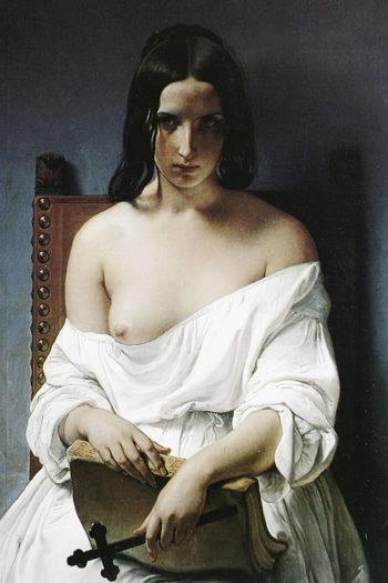 The Meditation | Francesco Paolo Hayez | oil painting