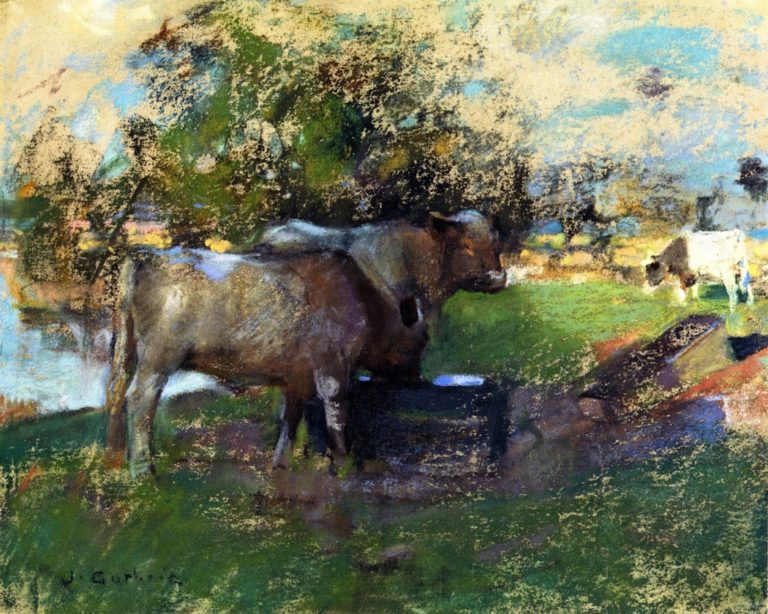 Pastureland | James Guthrie | oil painting