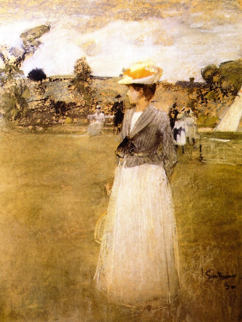 Tennis | James Guthrie | oil painting