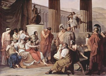 Ulysses at the court of Alcinous | Francesco Paolo Hayez | oil painting