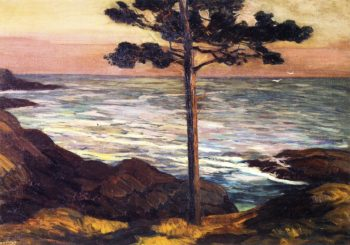 Boothbay Maine | Edward Willis Redfield | oil painting