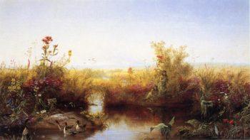Prairie Flowers 1 | Jerome Thompson | oil painting