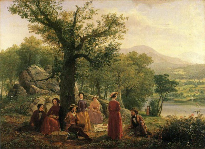 Recreation | Jerome Thompson | oil painting