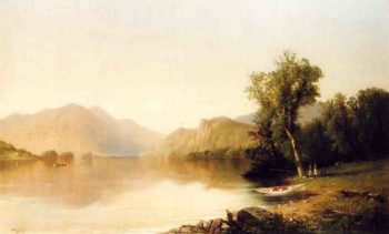 Bolton's Landing Lake George | John Williamson | oil painting