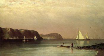 Hudson River from Glenwood | John Williamson | oil painting