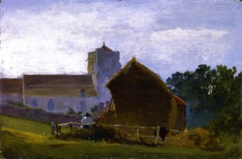 All Saints Church Hastings | David Cox | oil painting