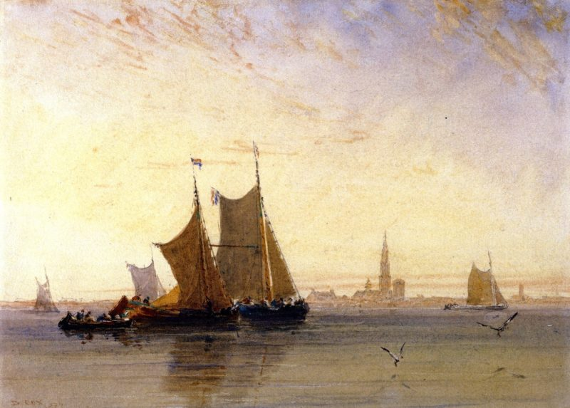 Antwerp Morning | David Cox | oil painting