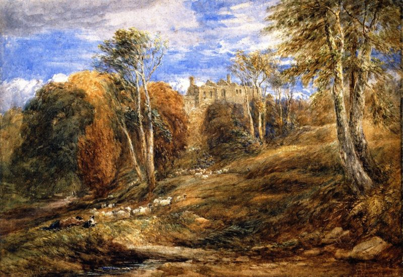 Barden Tower Yorkshire | David Cox | oil painting