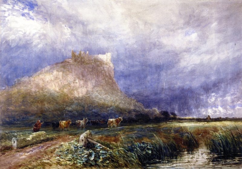 Beeston Castle Cheshire | David Cox | oil painting
