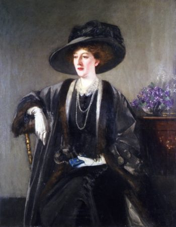 Mrs Kirkwood | George Henry | oil painting