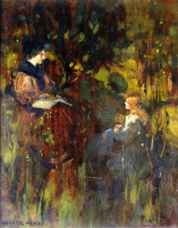 Through the Woods | George Henry | oil painting