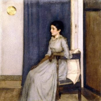 Marie Monnom | Fernand Khnopff | oil painting