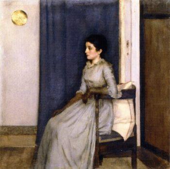 Marie Monnom | Fernand Khnopff | oil painting
