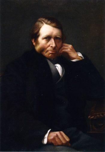 John Ruskin | Charles Herbert Moore | oil painting