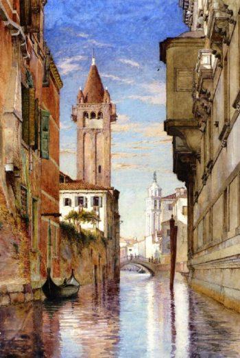 San Barnaba Venice | Charles Herbert Moore | oil painting