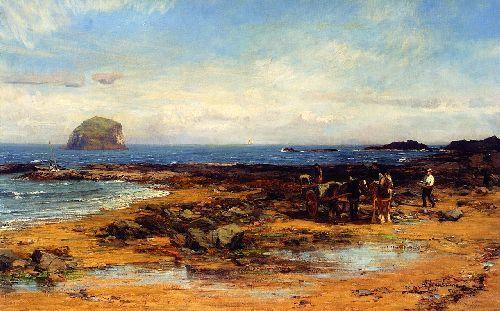 Bass Rock | David Farquharson | oil painting